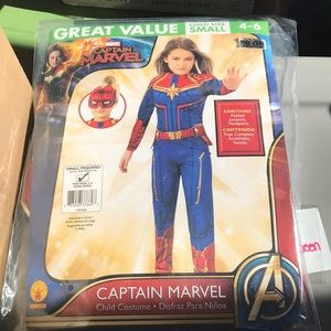 Marvel Captain Marvel Costume